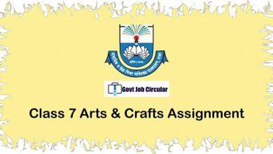 arts & crafts assignment
